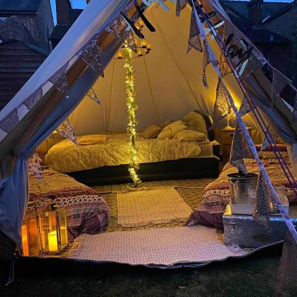 4 Metre Bell Tent Glamping 4m tent 5 square