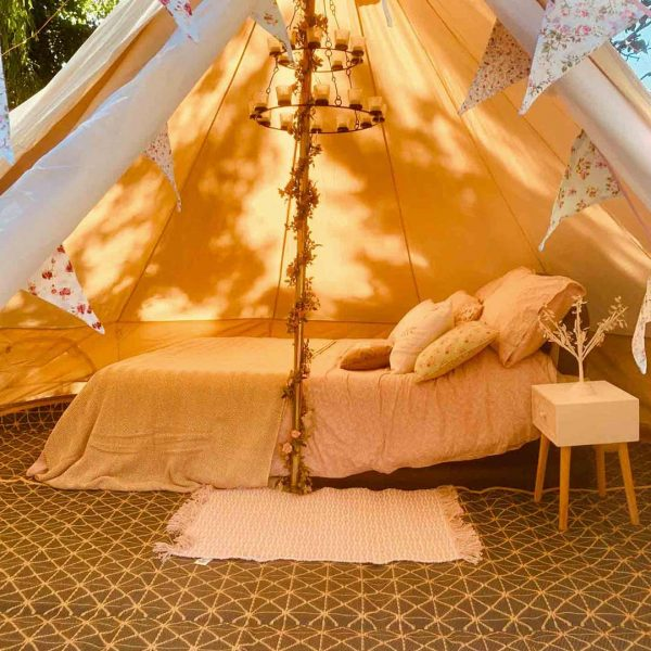 4 Metre Bell Tent Glamping 4m tent 6 square
