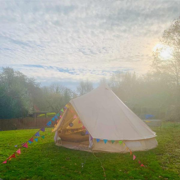 5 Metre Bell Tent Glamping 5m tent 2 square
