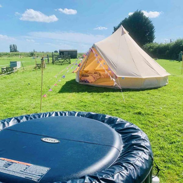 5 Metre Bell Tent Glamping 5m tent 5 square