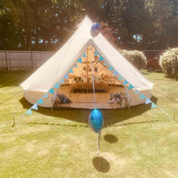 5 Metre Bell Tent Glamping 5m tent 7 square