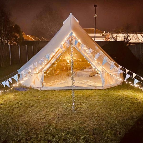 5 Metre Bell Tent Glamping 5m tent 9 square
