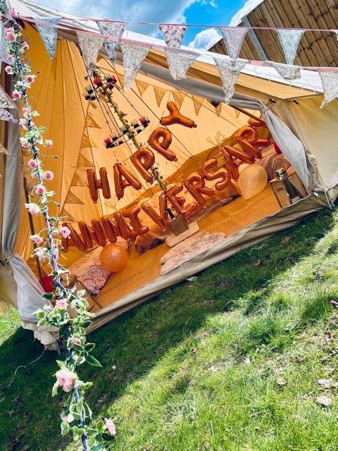 4 Metre Bell Tent Glamping IMG 2269