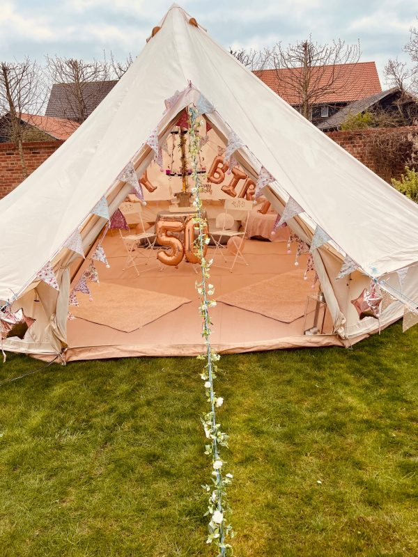 6 Metre Bell Tent Glamping IMG 1652