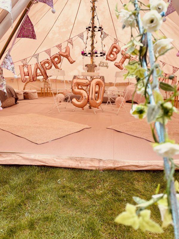 6 Metre Bell Tent Glamping IMG 1654