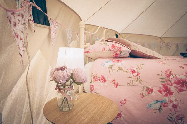 Moet Luxury Bell Tent Glamping GlampTipple 10 scaled