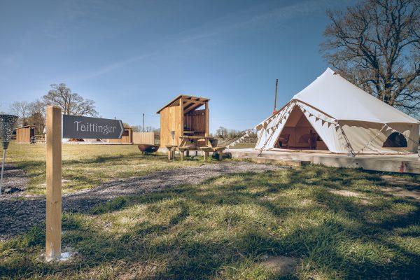 Taittinger Luxury Bell Tent Glamping GlampTipple 20 scaled