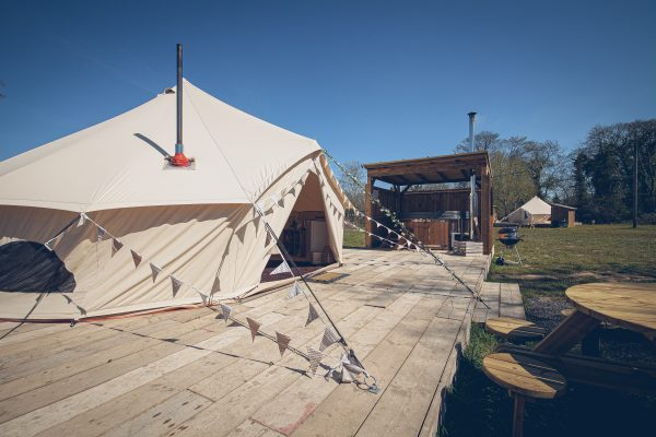 Taittinger Luxury Bell Tent Glamping GlampTipple 22 scaled