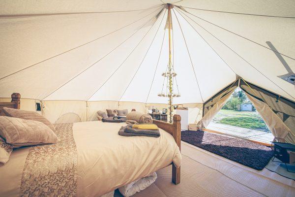 Taittinger Luxury Bell Tent Glamping GlampTipple 24 scaled