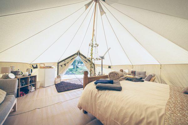 Taittinger Luxury Bell Tent Glamping GlampTipple 25 scaled