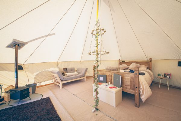 Taittinger Luxury Bell Tent Glamping GlampTipple 26 scaled