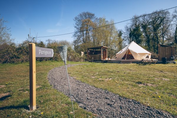 Perignon Luxury Bell Tent Glamping GlampTipple 30 scaled