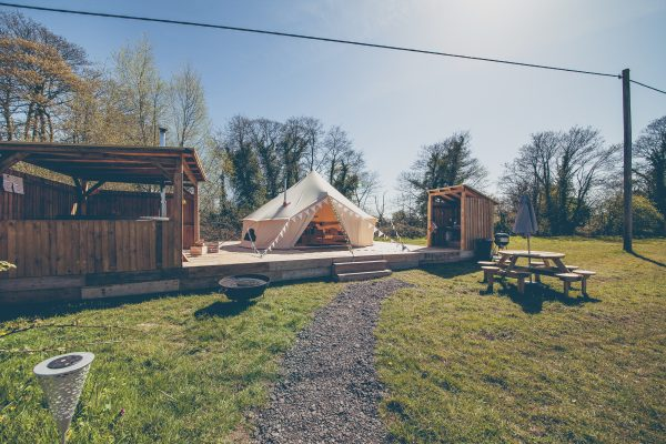 Perignon Luxury Bell Tent Glamping GlampTipple 31 scaled