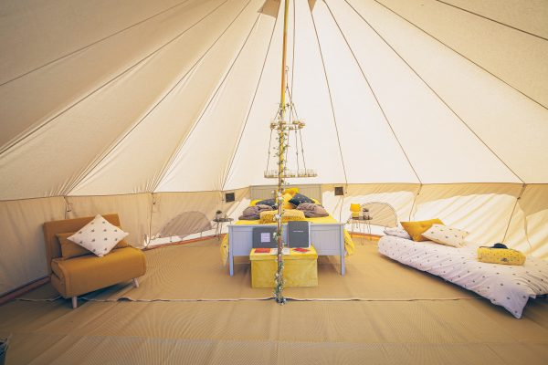 Perignon Luxury Bell Tent Glamping GlampTipple 33 scaled