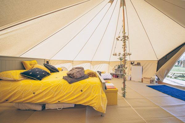 Perignon Luxury Bell Tent Glamping GlampTipple 34 scaled