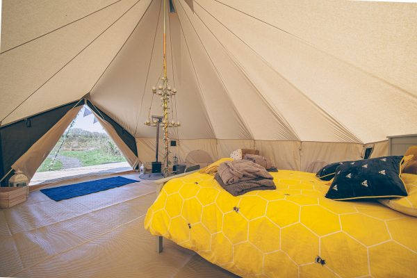 Perignon Luxury Bell Tent Glamping GlampTipple 35 scaled