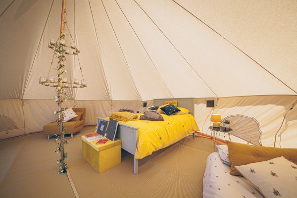 Perignon Luxury Bell Tent Glamping GlampTipple 36 scaled