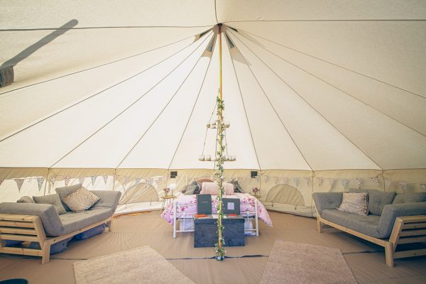 Moet Luxury Bell Tent Glamping GlampTipple 4 scaled