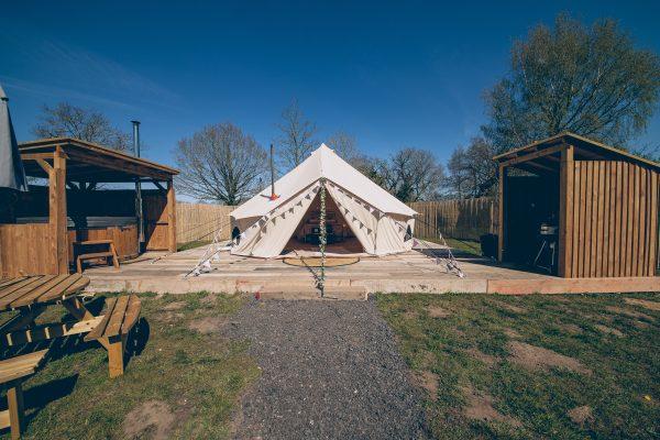 Bollinger Luxury Bell Tent Glamping GlampTipple 43 scaled