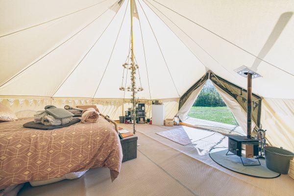 Bollinger Luxury Bell Tent Glamping GlampTipple 46 scaled