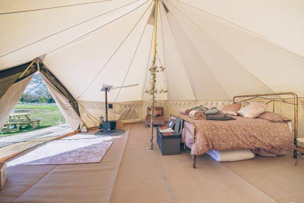 Bollinger Luxury Bell Tent Glamping GlampTipple 48 scaled