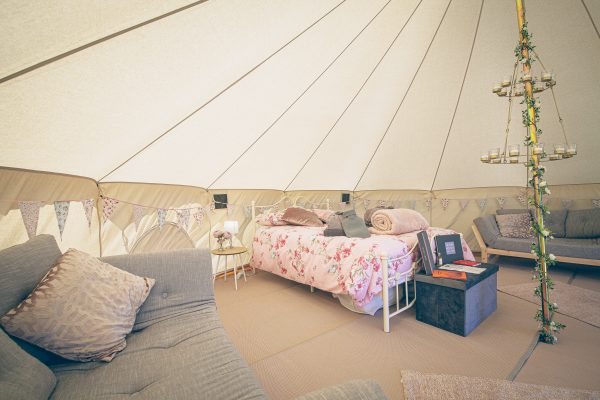 Moet Luxury Bell Tent Glamping GlampTipple 5 scaled