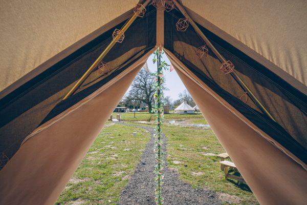 Bollinger Luxury Bell Tent Glamping GlampTipple 52 scaled
