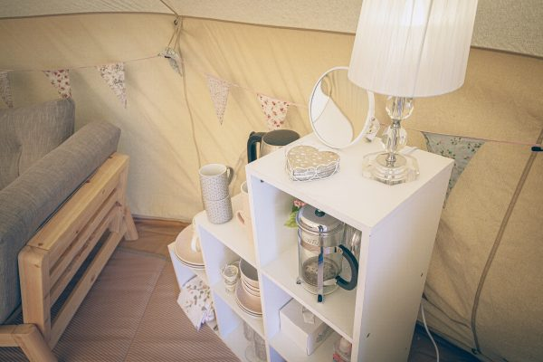 Moet Luxury Bell Tent Glamping GlampTipple 8 scaled