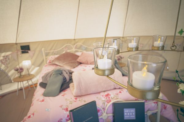 Moet Luxury Bell Tent Glamping GlampTipple 9 scaled
